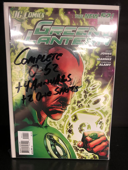 Green Lantern New 52 0-52 Plus 4 Annuals & 2 One Shots