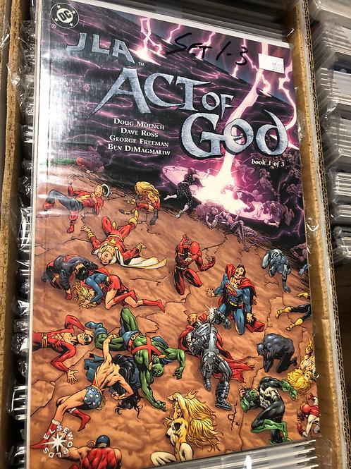 JLA Act of God 1-3