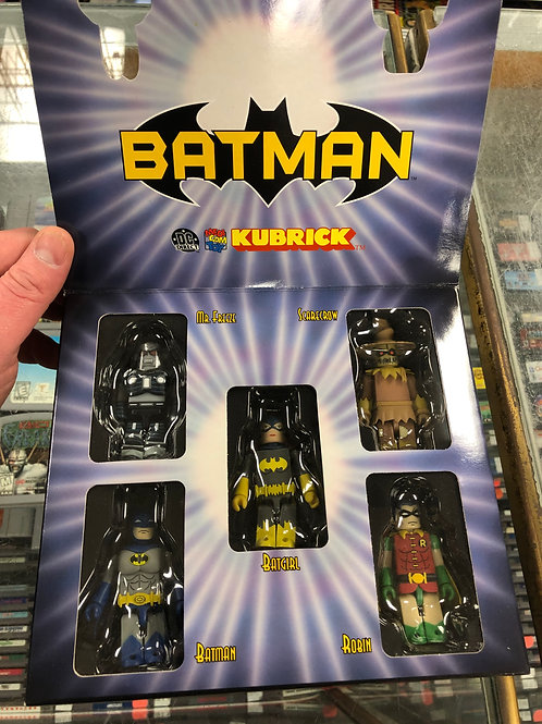 DC Direct Batman Kubrick Set