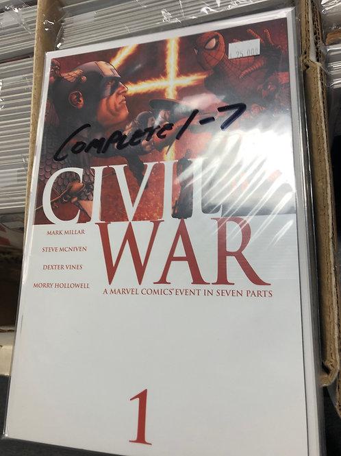 Civil War 1-7