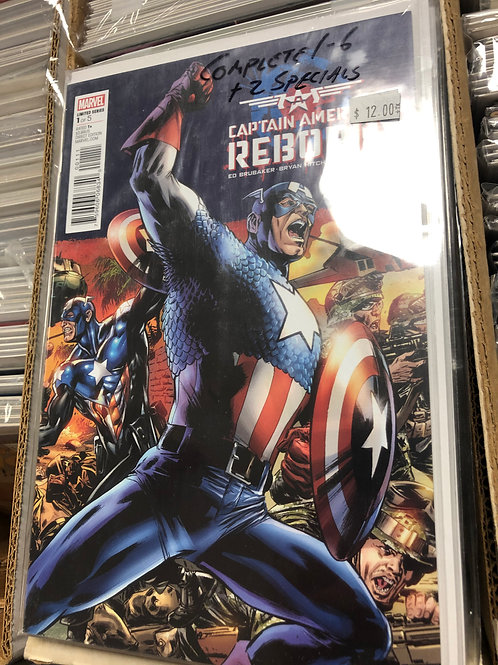 Captain America Reborn 1-6 plus 2 Specials