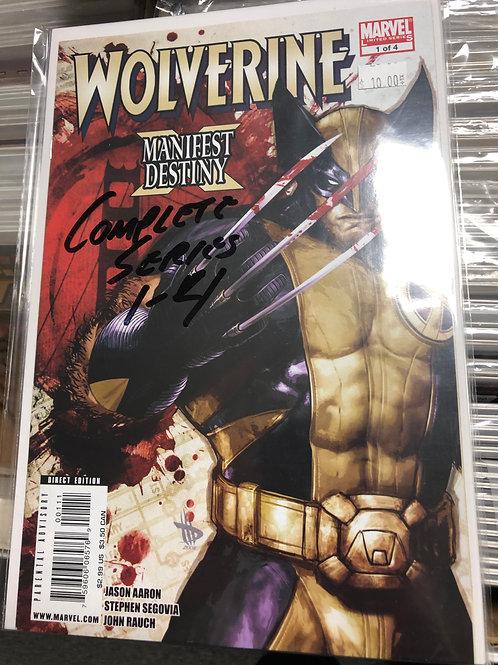 Wolverine Manifest Destiny 1-4