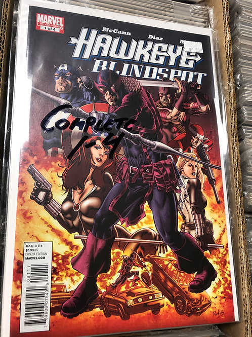 Hawkeye Blindspot 1-4