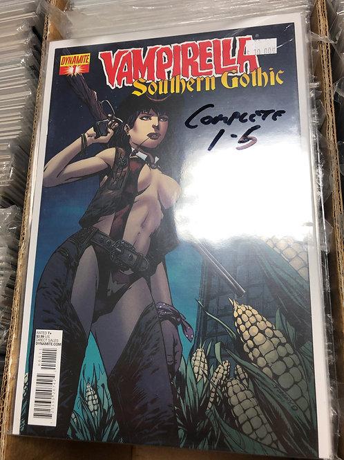 Vampirella Southern Gothic 1-5