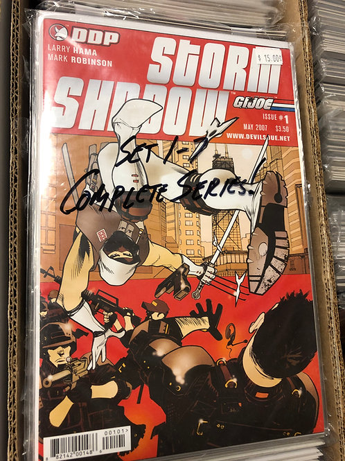 G.I. Joe Storm Shadow 1-7