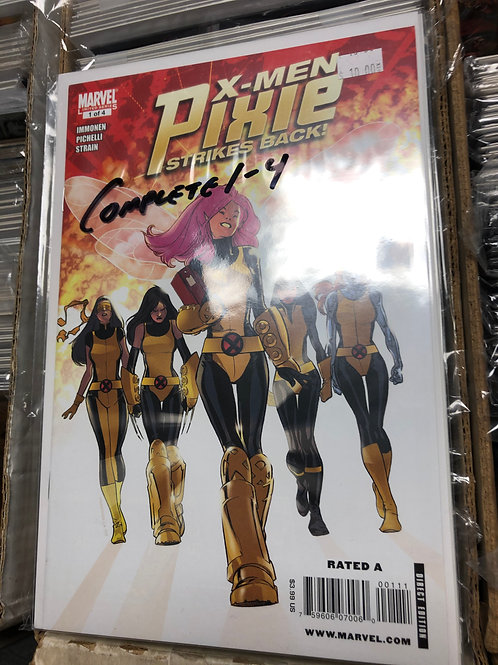 X-Men Pixie Strikes Back 1-4