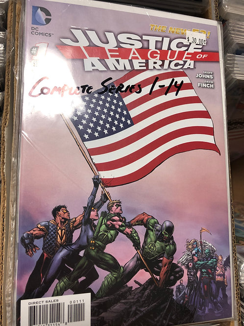 Justice League of America New 52 1-14