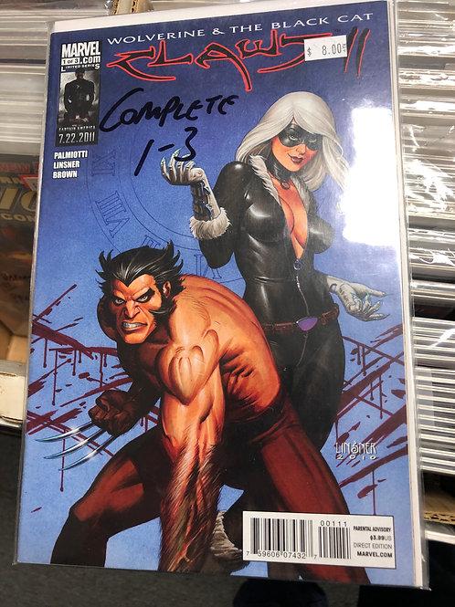 Wolverine & Black Cat Claws II 1-3