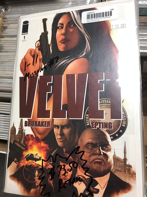 Velvet 1-11 Missing #7