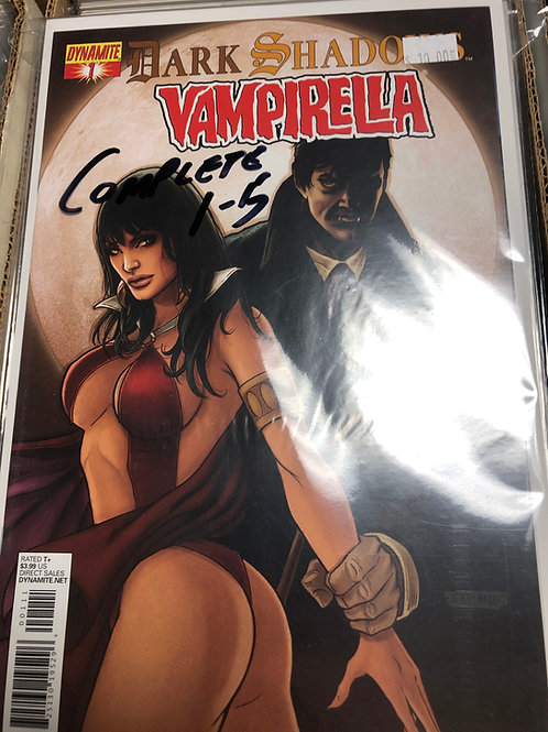 Dark Shadows Vampirella 1-5