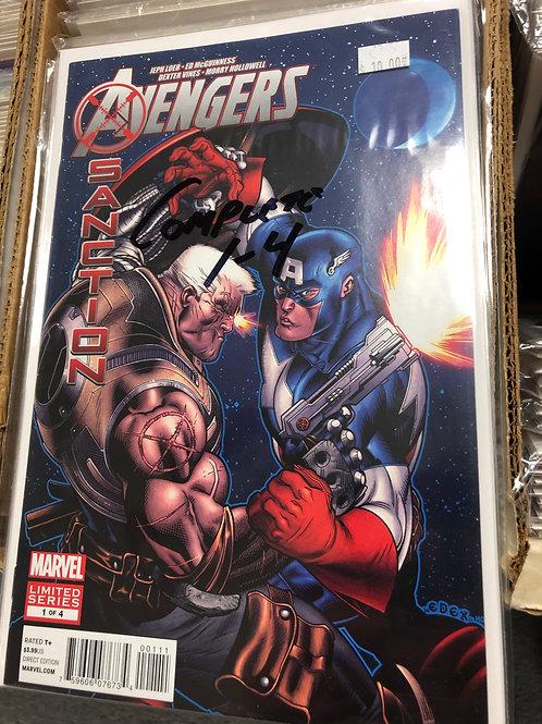 Avengers X-Sanction 1-4