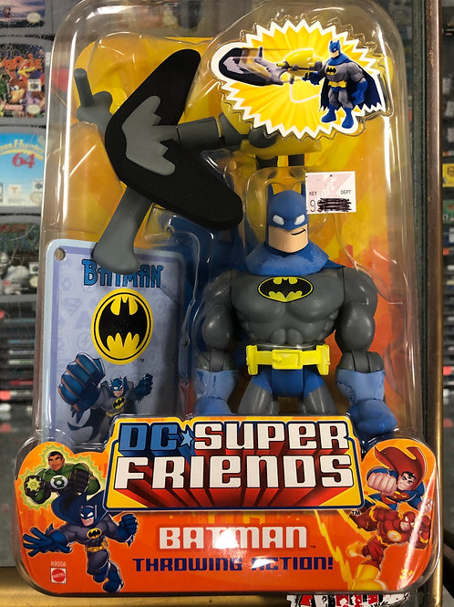 DC Super Friends Batman With Throwing Action