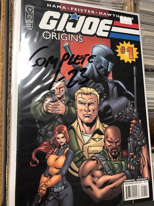 G.I. Joe Origins 1-23