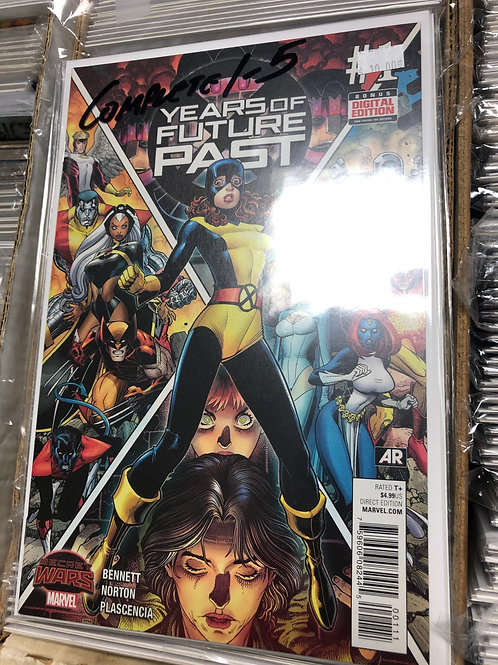 X-Men Years of Future Past Secret Wars 1-5