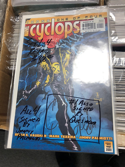 Cyclops 1-4 (#1 Signed by Joe Quesada)