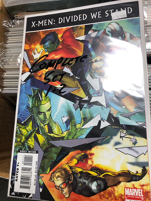 X-Men Divided We Stand 1-2