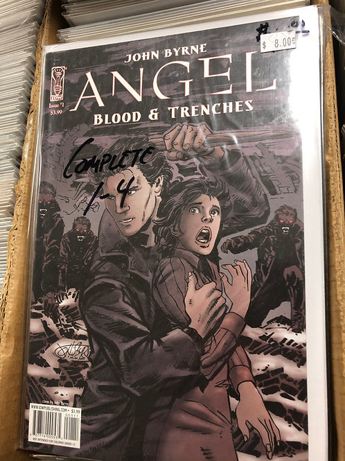 Angel Blood & Trenches 1-4