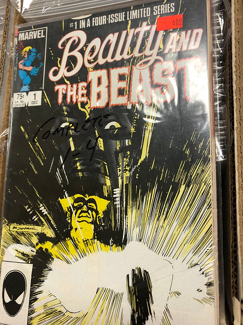 Beauty and the Beast 1-4