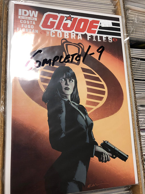 G.I. Joe Cobra Files 1-9