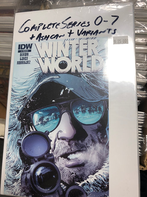 Winter World 0-7 Plus Ashcan and Variants
