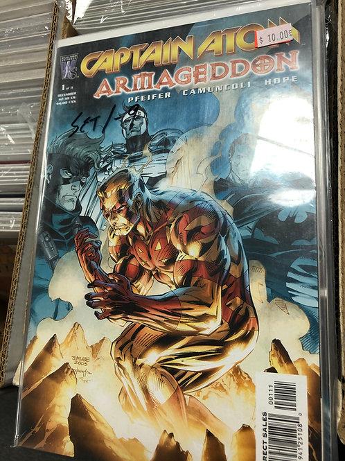Captain Atom Armageddon 1-9