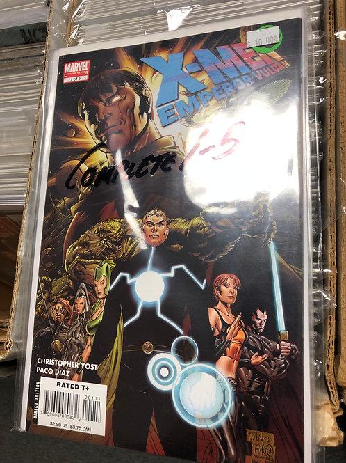 X-Men Emperor Vulcan 1-5
