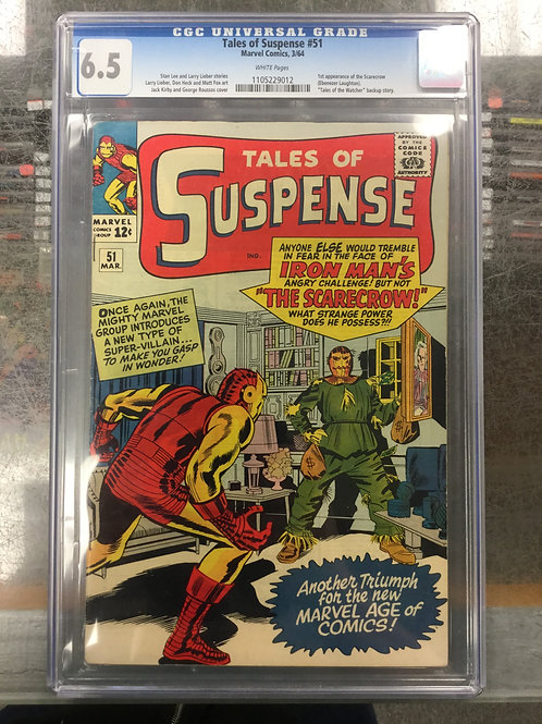 Tales of Suspense 51 CGC 6.5 1st Scarecrow (Marvel)