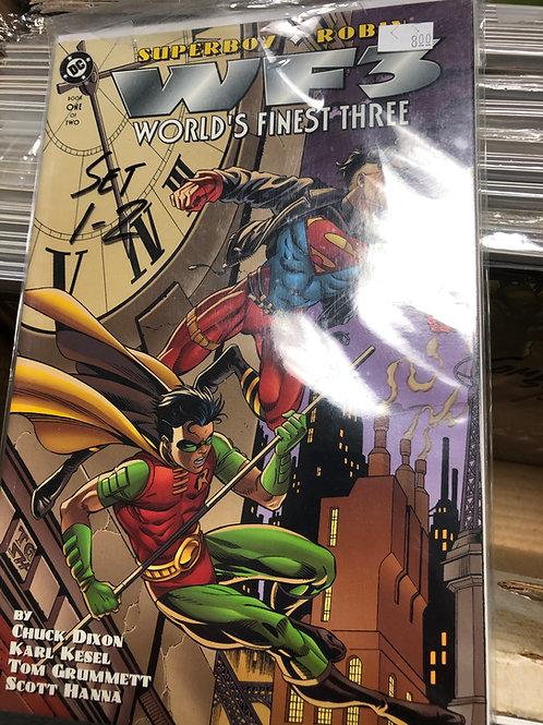 World's Finest Three Robin Superboy 1-2