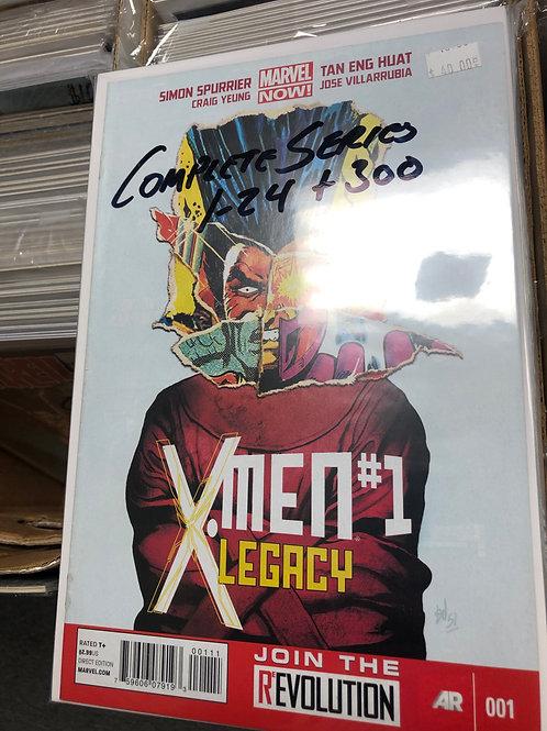 X-Men Legacy 1-24 Plus 300