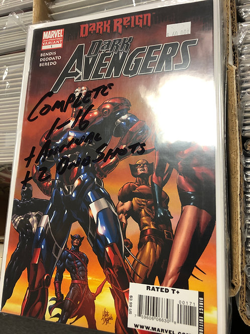 Dark Avengers 1-16 plus Annual and 2 One Shots