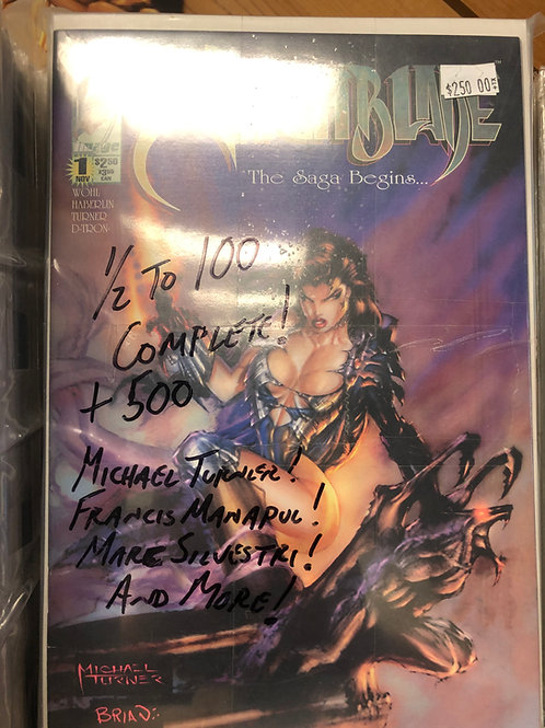 Witchblade 1/2-100, 500