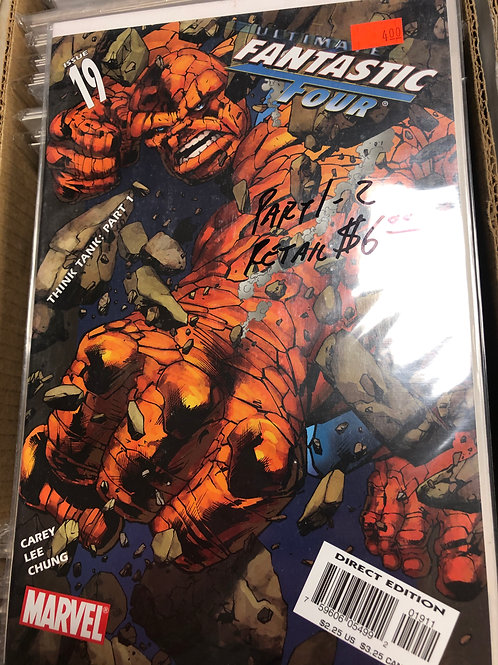 Ultimate Fantastic Four Think Tank 1-2