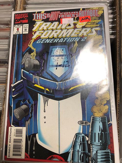 Transformers Generation 2 1-12