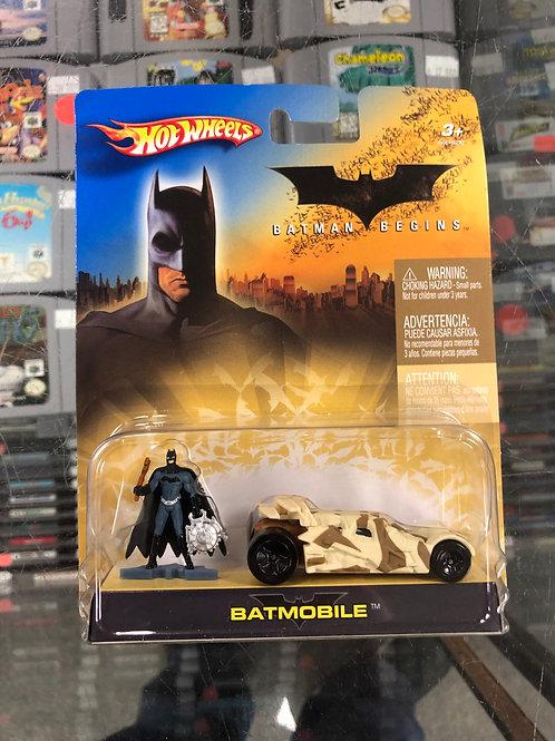 Hot Wheels Batman Begins set of 4