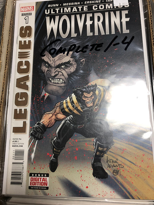Ultimate Wolverine 1-4
