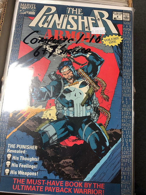 Punisher Armory 1-10 (6 & 7 Signed)