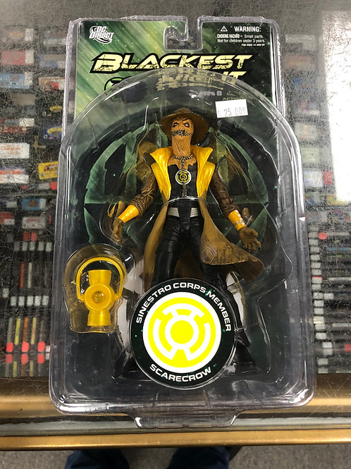 Blackest Night Sinestro Corps Scarecrow