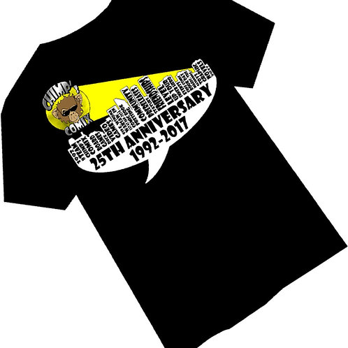 Chimp's Comix 25th Anniversary Shirt
