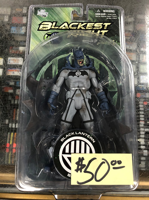 Blackest Night Black Lantern Batman