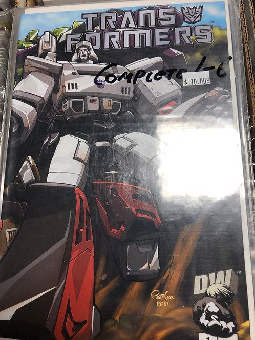 Transformers G1 Dreamwave V1 1-6