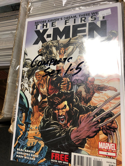 The First X-Men 1-5