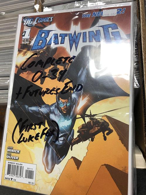 Batwing New 52 Complete Series 0-34 1st Appearance Luke Fox