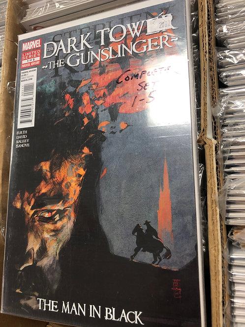 Dark Tower Gunslinger Man In Black 1-5
