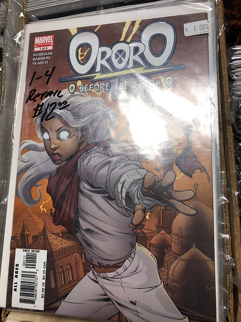 X-Men Ororo Before the Storm 1-4