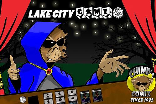Chimp's Comix/Lake City Game Fest Playmat