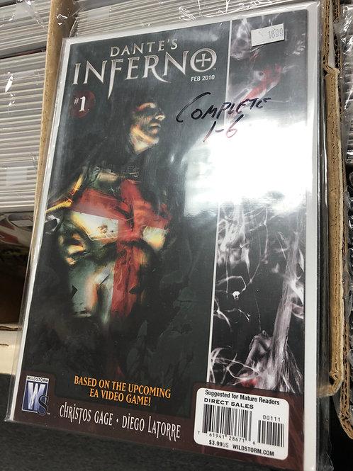 Dante's Inferno 1-6