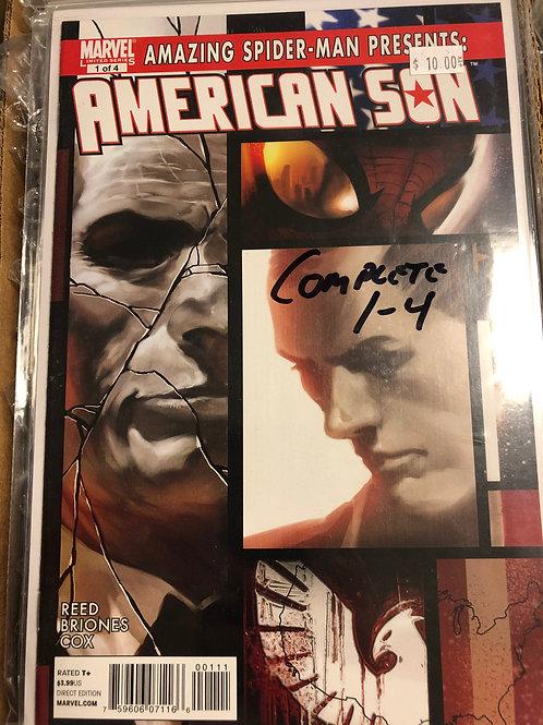 Amazing Spider-man Presents American Son 1-4