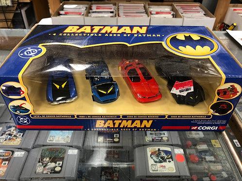Corgi Ages of Batman 4 Pack
