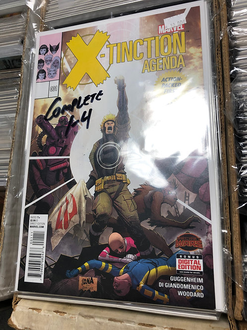 X-Tinction Agenda Secret Wars 1-4
