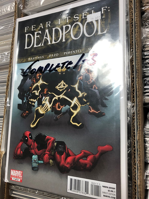 Fear Itself Deadpool 1-3
